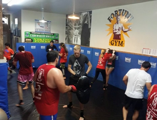 MUAY THAI + KICKBOXING CLASSES