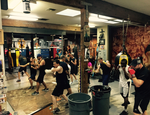 BOXING CLASSES:  Evenings